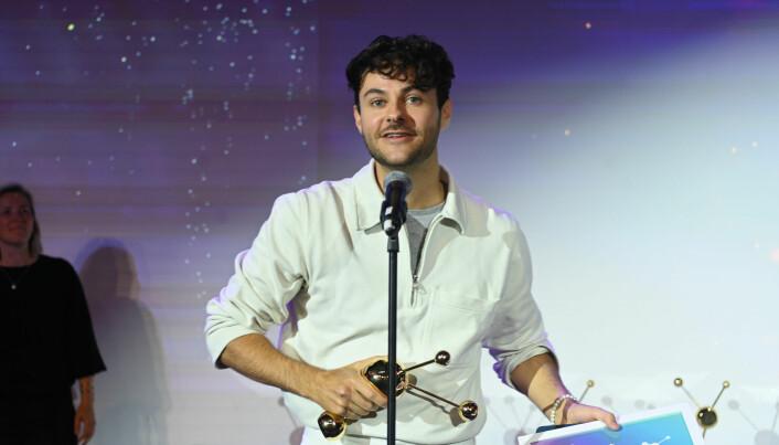 Gisle August Gjevestad Agledahl og Fyresdal kommune vant pris i kategorien «Årets betalte kamapanje» under Social Media Awards 2021.