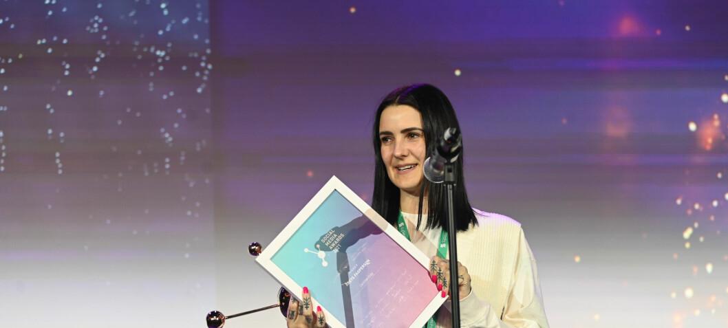 Christine Krieg er Årets Fagperson innenfor sosiale medier