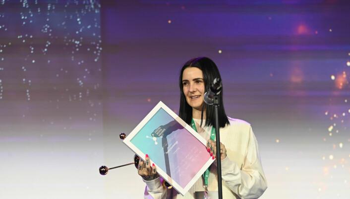 Christine Krieg fra Krieg kommunikasjon ble kåret til «Årets fagperson».