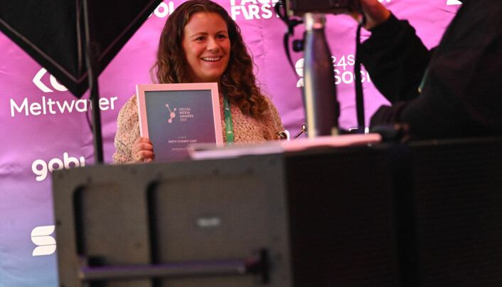 Anna Lærdal vant «Årets student-case».