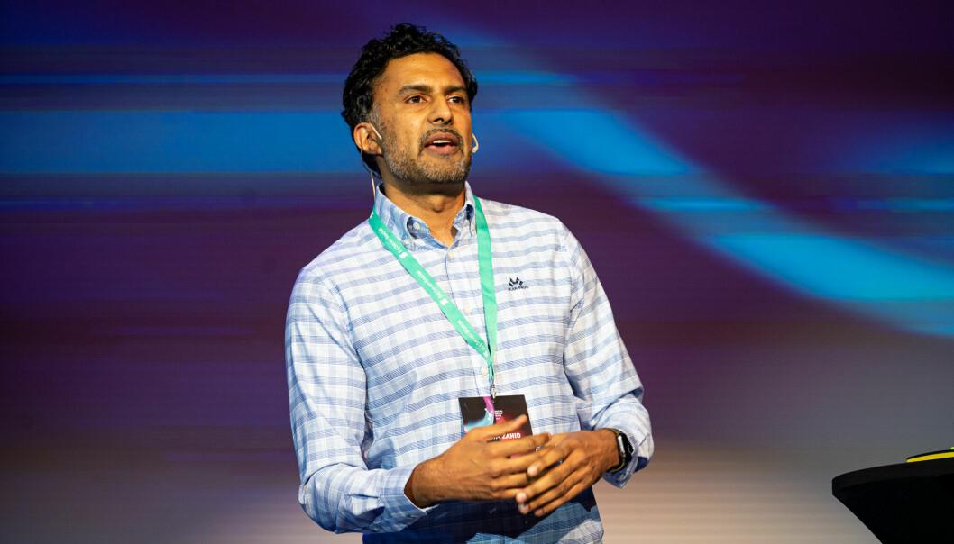 Wasim Zahid sier det er ekstremt viktig å komme med innhold av verdi når man skal publisere på sosiale medier til sine følgere.