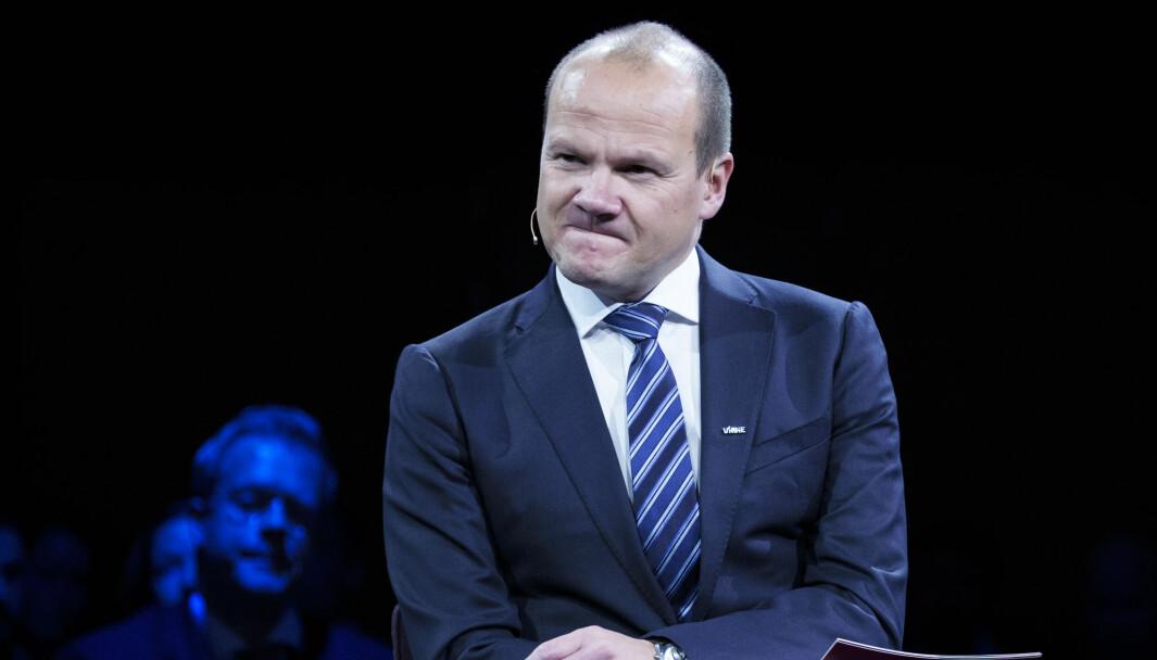 Øystein Ingdahl håper å få fortsette å kombinere jobben med å kommentere ishockey med det å ha en lederjobb i marketing og kommunikasjon.