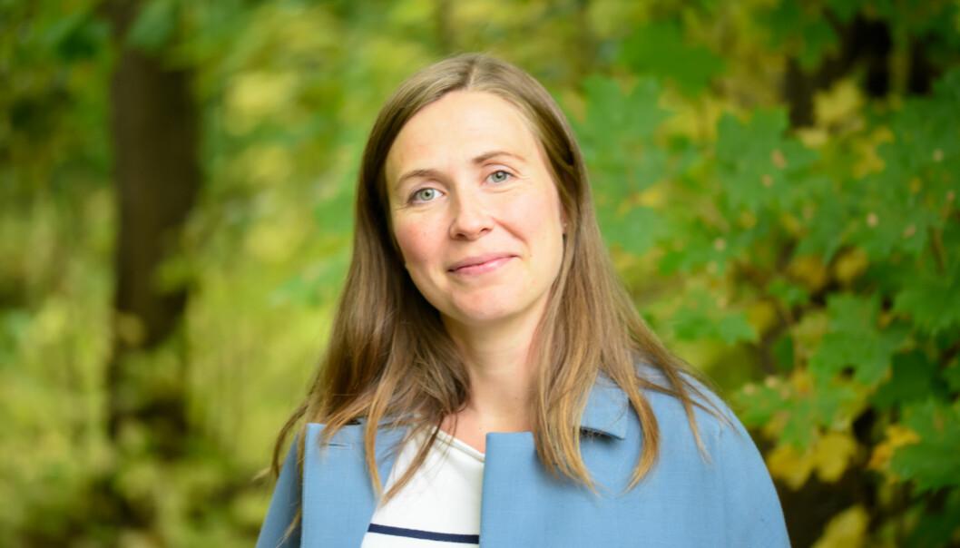 Hanne Marie Molde er tidlegare journalist, no jobbar ho som kommunikasjonsrådgjevar for Kreftforeningen. Under Rosa sløyfe-aksjonen er det ho som har ansvaret for å selga inn saker til pressa.