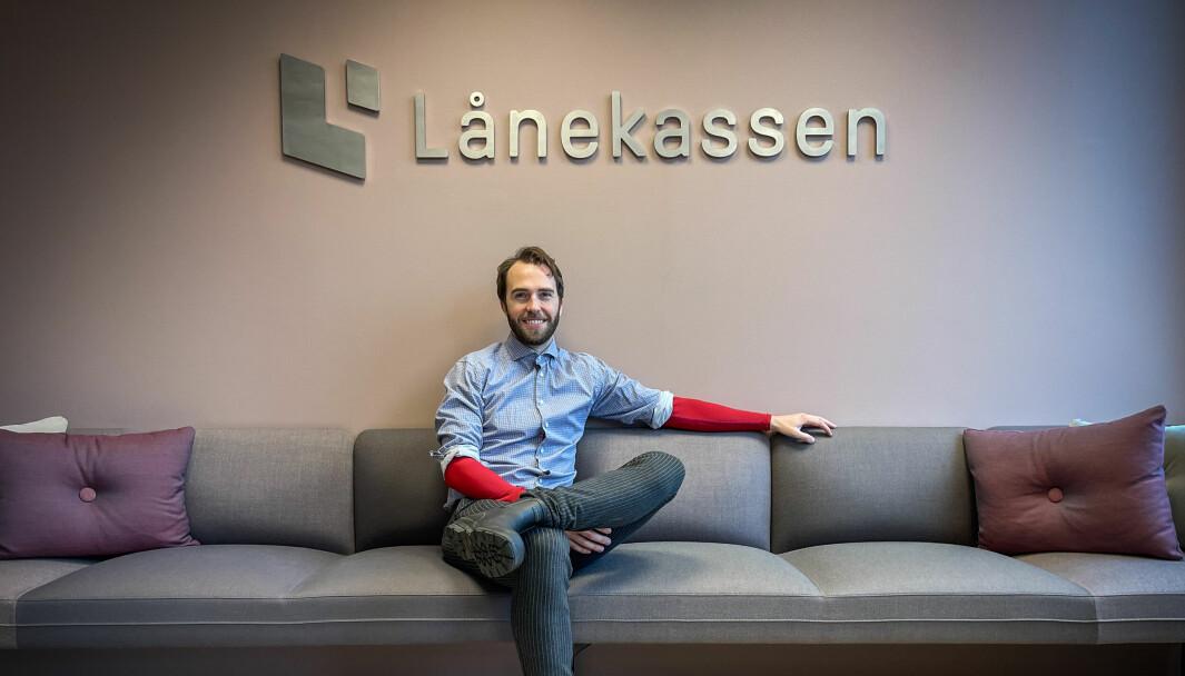 Steffen Walstad begynte som innholdsprodusent i Lånekassen 1.oktober 2021.