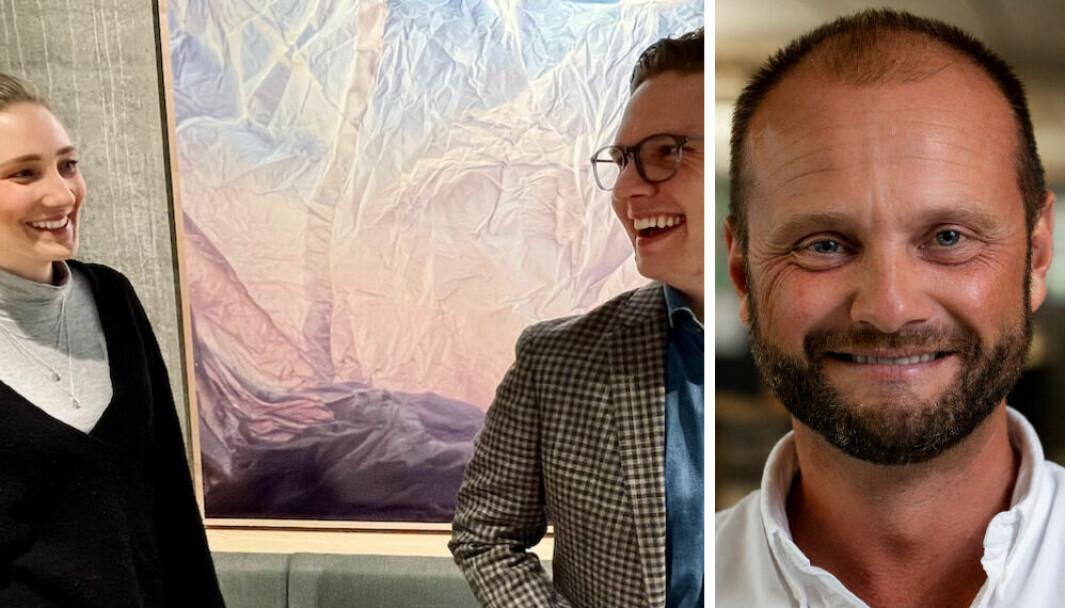Kine Aarum, Jógvan Brimheim Gunnarsson og Kristoffer Kvam har stor tro på belønning.