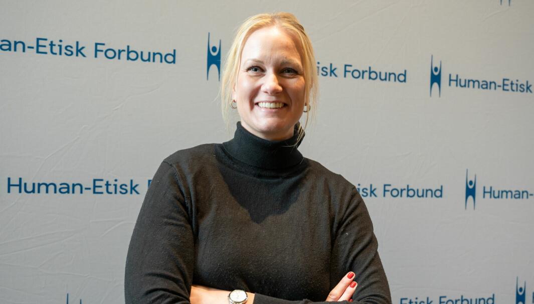 Kommunikasjonssjef Marit Øimoen.