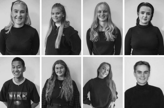 Volda-laget består av: Jenny Brynhildsen, Elise Lødøen, Jenny Carlsen, Renate Gjerken, Eli Maria Helland, Olav Amar Sherpa Rangsæter-Kråkenes, Kristine Widlund Klipper og Thomas Amlie.