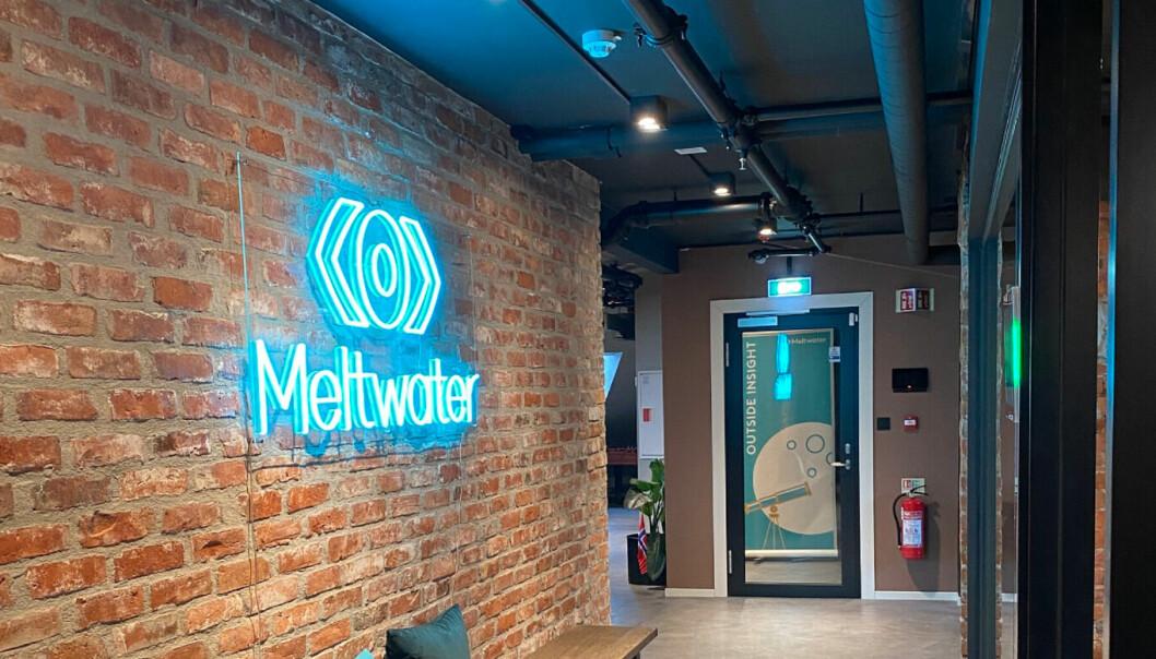 I det siste har Meltwater hanket inn flere lønnsomme kunder. Bilde her er fra Meltwaters kontoret i Oslo.