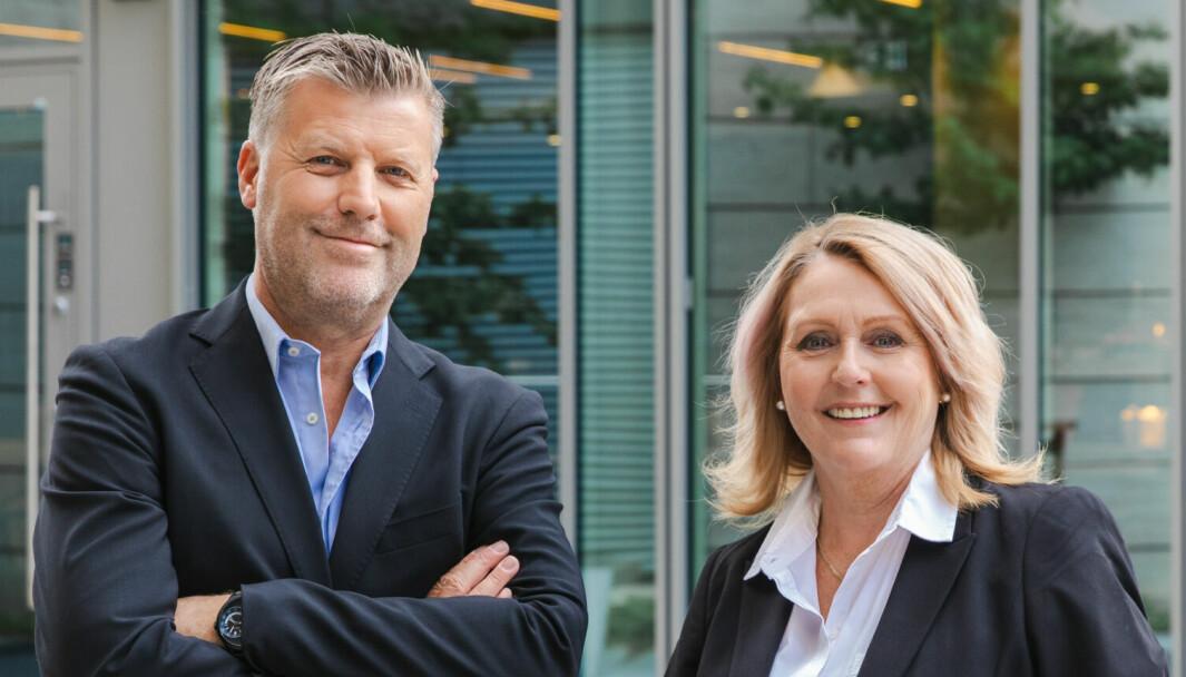 Sven Øvergaard og Corinne Fjellås