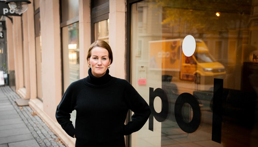 Therese Becke begynte i rollen som sjef i POL 1. oktober.