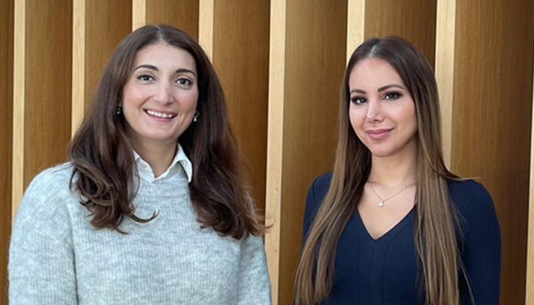 Jasmina Lie og Elnaz Esmailzadeh.