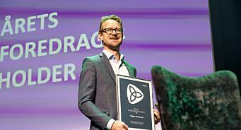 Vebjørn Søndersrød er årets foredragsholder