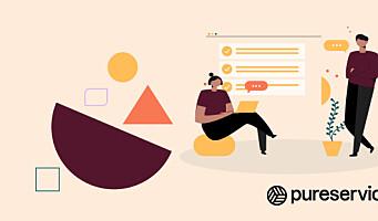 Scandinavian Design Group oppdaterer den visuelle identiteten til Pureservice