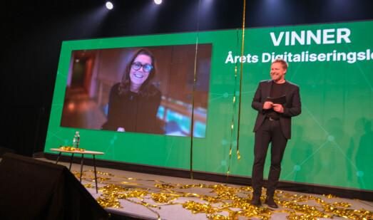 Kristin Skogen Lund er kåret til årets digitale leder: – Hun forstår kraften i digital kommunikasjon